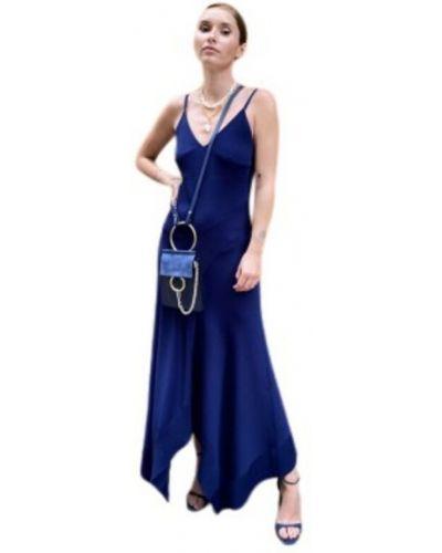 Niebieski szlafrok Barbara Bui