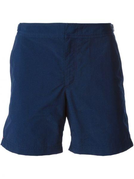 Niebieskie spodenki do pływania Orlebar Brown