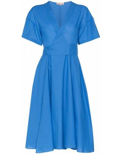 Платье миди футляр с американской проймой Esteban Cortazar