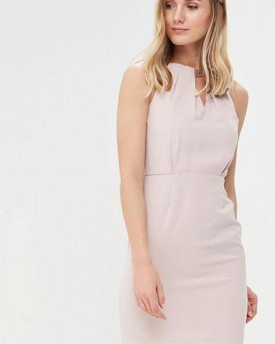 Розовое платье весеннее Morgan