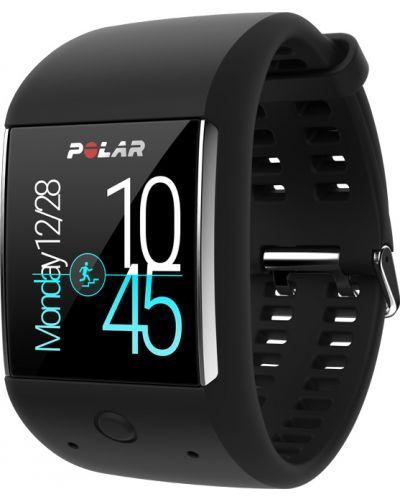 Czarny zegarek Polar