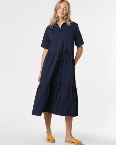 Niebieska sukienka midi Marie Lund