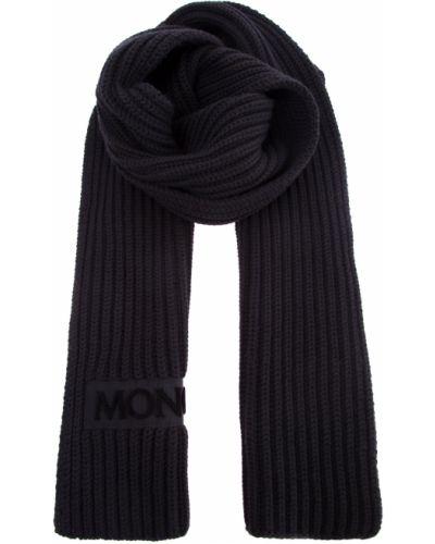 Шарф вязаный шерстяной теплый Moncler