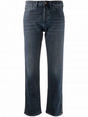 Синие джинсовые джинсы 3x1