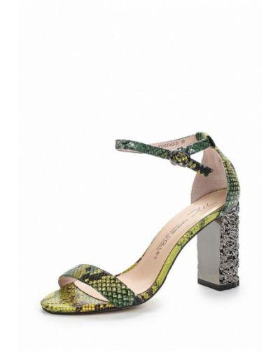 Зеленые босоножки на каблуке Marie Collet