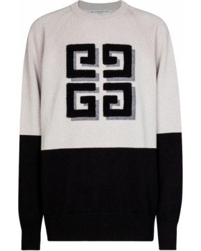 Biały z kaszmiru sweter Givenchy