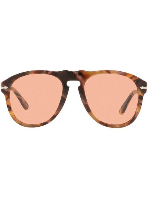 Okulary z printem - różowe Persol