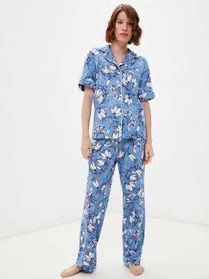 Синяя зимняя пижама Rene Santi