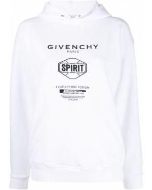Bluza z kapturem z kapturem na ramieniu Givenchy