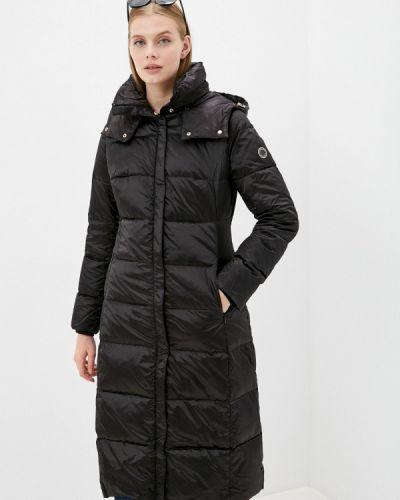 Черная куртка осенняя Madzerini