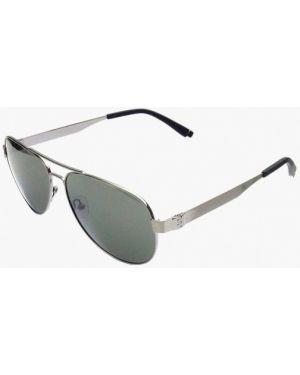 Серебряные солнцезащитные очки с завязками Enni Marco