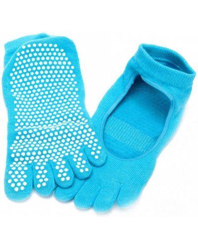Тренировочные хлопковые носки высокие для йоги Bradex