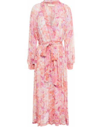 Różowe kimono z wiskozy Bytimo