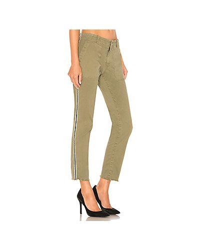 Спортивные брюки укороченные зеленый Nili Lotan