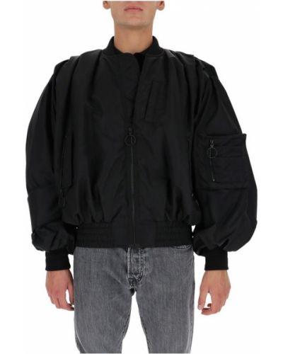 Czarna długa kurtka z długimi rękawami Off-white