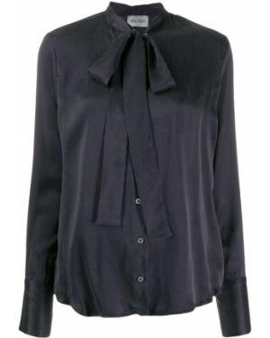 Черный топ на пуговицах Balossa White Shirt