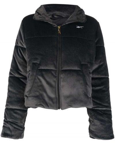 Серая куртка на шпильке Reebok