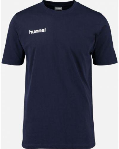 Футболка винтажная - синяя Hummel