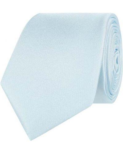Krawat z jedwabiu turkusowy Monti