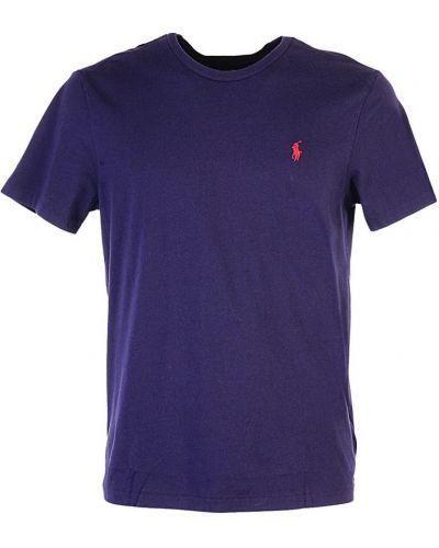 Niebieski t-shirt krótki rękaw Ralph Lauren
