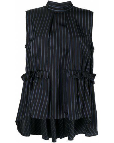 Блузка без рукавов - черная Comme Des Garçons Noir Kei Ninomiya