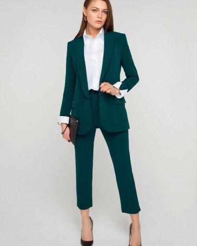Зеленый брючный костюм Solou