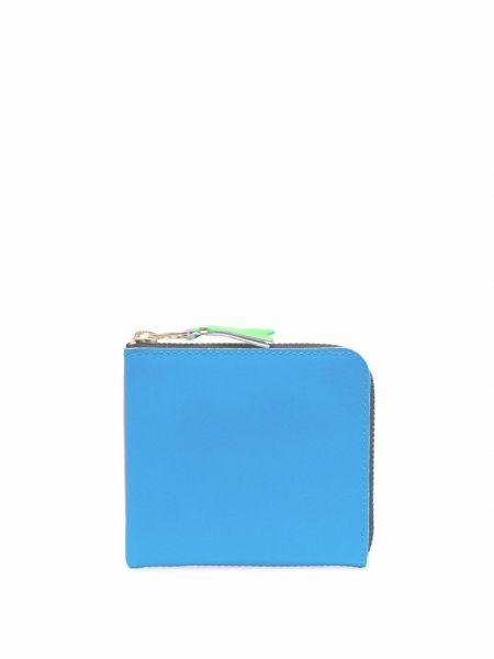 Portfel skórzany - niebieski Comme Des Garçons Wallet