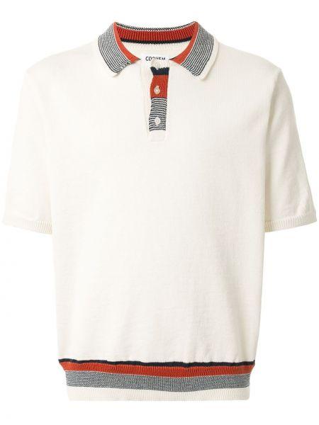 Koszula krótkie z krótkim rękawem lato z kołnierzem Coohem