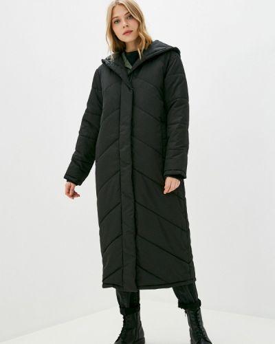 Черная утепленная куртка Selected Femme