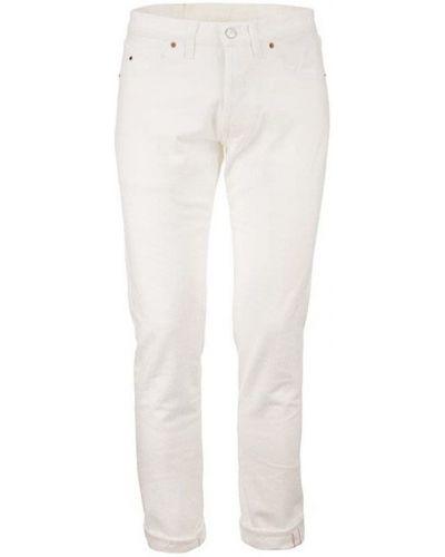 Białe spodnie Tramarossa