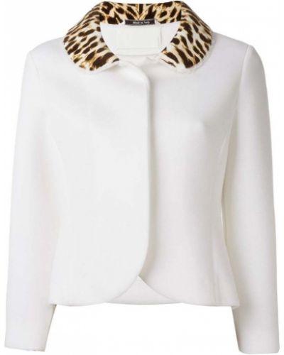 Пиджак прямой леопардовый Maison Margiela