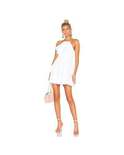 Платье с вышивкой с оборками Bcbgeneration