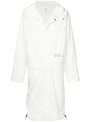 Płaszcz przeciwdeszczowy - biały Makavelic