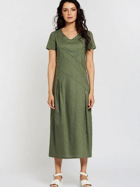 Повседневное платье хаки D`imma