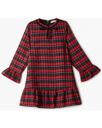 Повседневное красное платье Sonia Rykiel