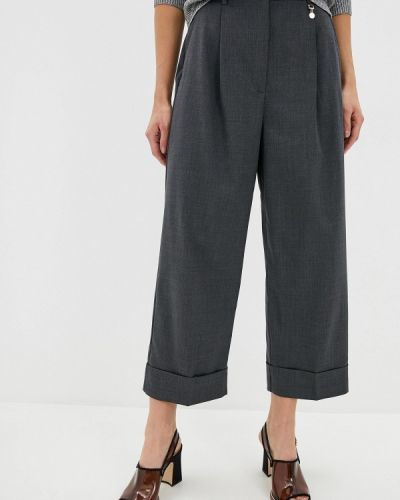 Классические брюки серые черные Pennyblack