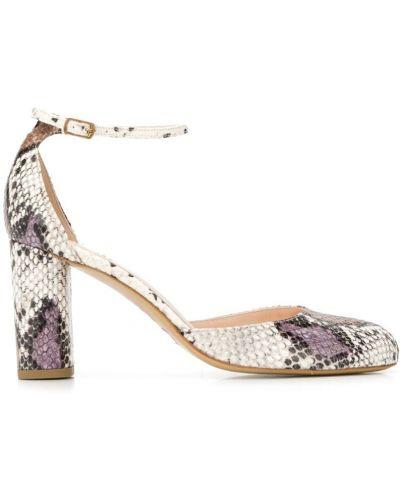 Туфли-лодочки на каблуке с пряжкой Lenora