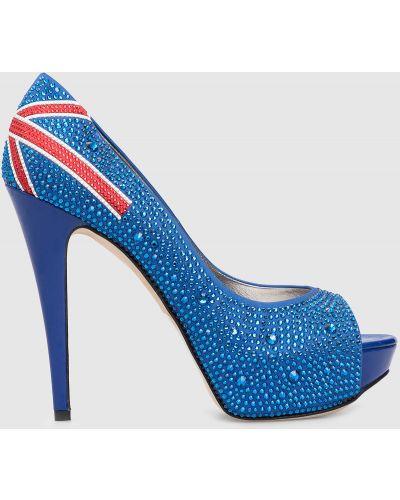 Туфли - синие Gina