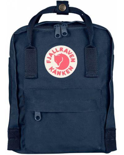 Niebieski plecak materiałowy Fjällräven