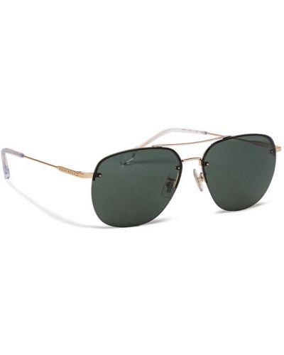 Złote okulary Hugo