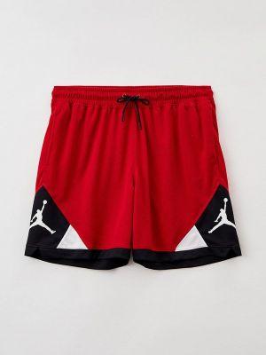 Спортивные шорты - красные Jordan