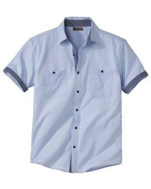 Рубашка с короткими рукавами с карманами легкая Atlas For Men