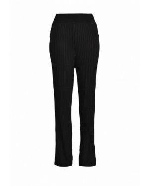 Черные брюки расклешенные Atos Lombardini