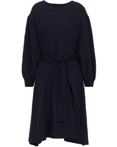 Шерстяное синее платье винтажное American Vintage