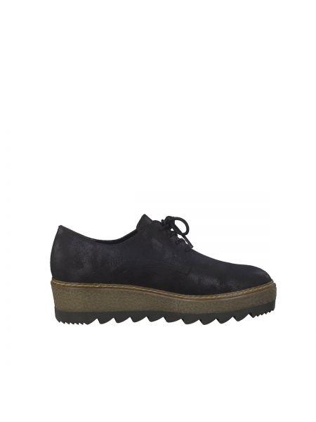 Ботинки на шнуровке на платформе Tamaris