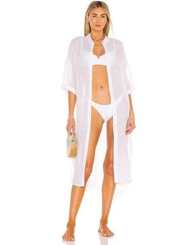 Льняное платье - белое Vitamin A