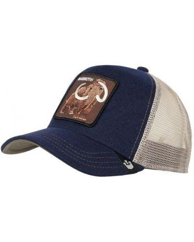 Niebieska czapka wełniana Goorin Bros