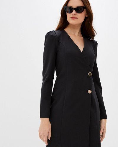 Черное платье-футляр Jimmy Sanders