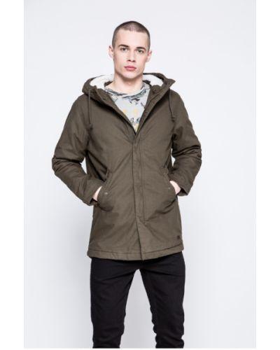 Утепленная куртка с капюшоном прямая Produkt By Jack & Jones