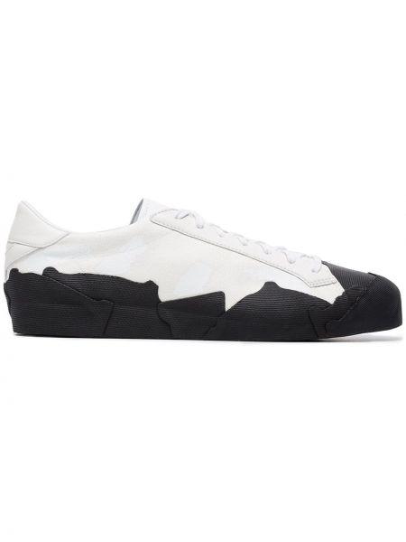 Białe sneakersy skorzane Yohji Yamamoto